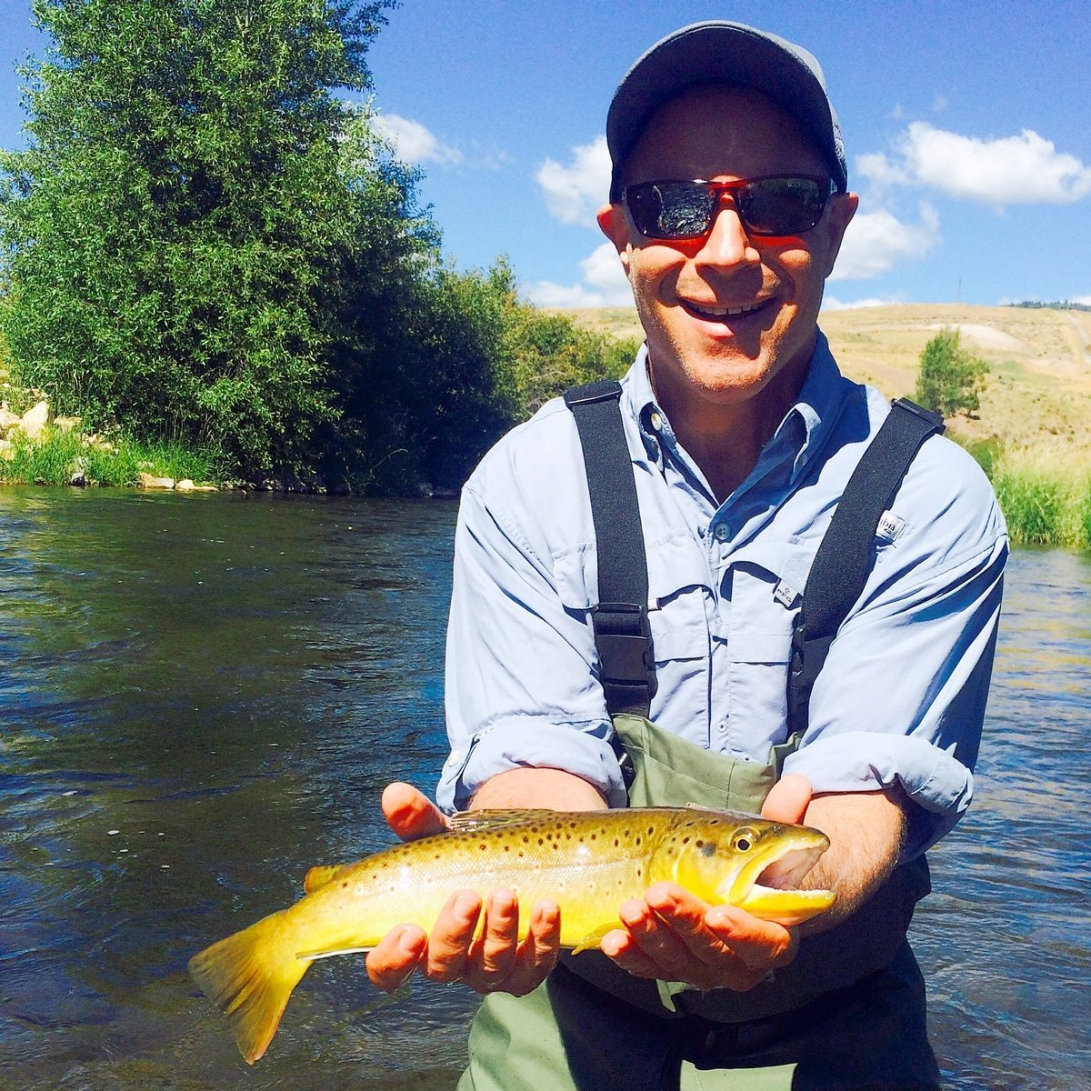 Weber river fly fishing trips park city outfitters for Park city fly fishing