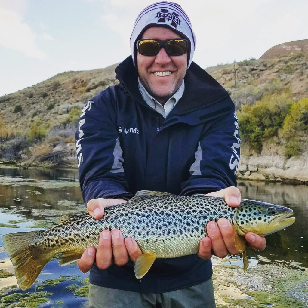 Park city outfitters fish secret waters with local guides for Fly fishing spots near me